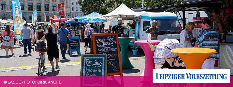 """Wilhelm-Leuschner-Platz verwandelt sich in großen """"Street Food Park"""""""