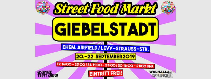 5. Street Food Festival Giebelstadt /Jubiläumsfestival