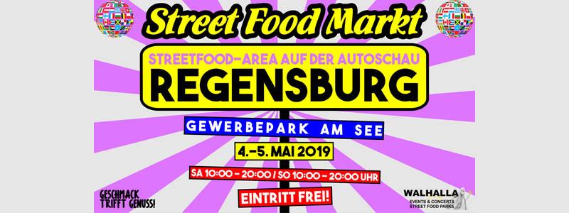 2. Street Food Area & Autoschau Regensburg / Gewerbepark